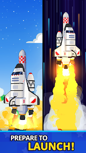 Rocket Star MOD APK- Idle Space Factory Tycoon (Unlimited Star Coins) 2