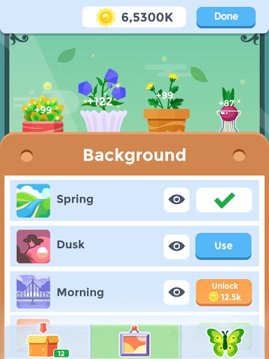 Idle Garden - Garden Paradise Evolution Game apktram screenshots 6
