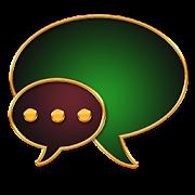 GO SMS Golden Vintage Green