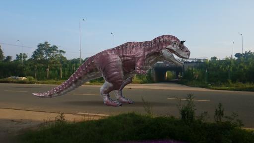Dinosaur 3D AR - Augmented Reality android2mod screenshots 3