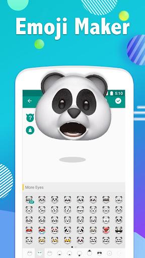 Emoji Maker- Free Personal Animated Phone Emojis apktram screenshots 1