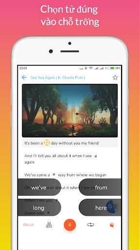 Learn English through Music modavailable screenshots 8