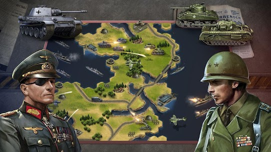 WW2: Strategy Commander Conquer Frontline 4