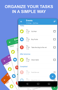 Task Agenda: organize and remember your tasks! 1.6.8