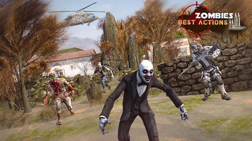 Free Games Zombie Force: New Shooting Games 2021 1.5 screenshots 12