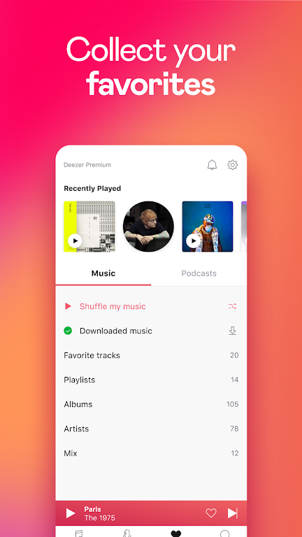 Deezer Music Player: Songs, Playlists & Podcasts  poster 6
