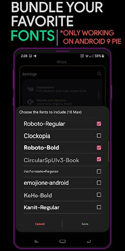 Hex Installer - Themes for OneUI screenshots 6