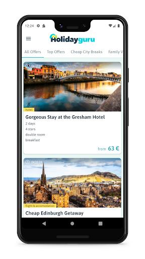 Holidayguru » Travel Deals 5.0.0 screenshots 1