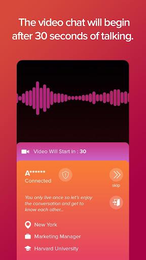 WHO Lite - Live video chat & Match & Meet me Apkfinish screenshots 3