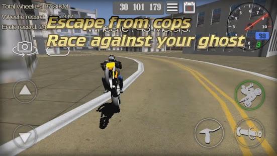 Wheelie King 3D - Realistic free  motorbike racing 1.0 Screenshots 2