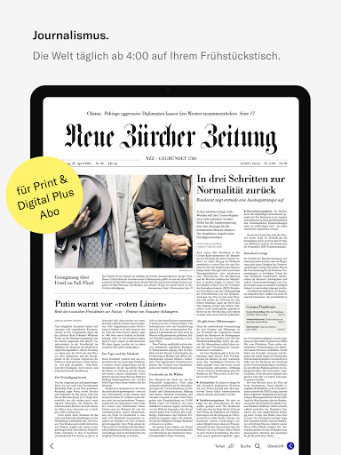 NZZ E-Paper modavailable screenshots 6