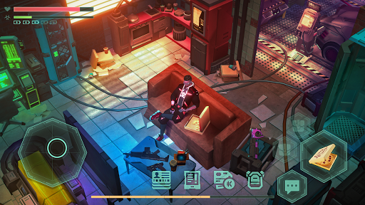 Cyberika: Action Adventure Cyberpunk RPG modavailable screenshots 2