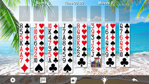 Download FreeCell Solitaire 1.4.208 screenshots 1