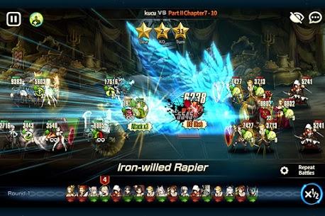 Brave Nine Mod Apk- Tactical RPG (Battles Speed x20) 8