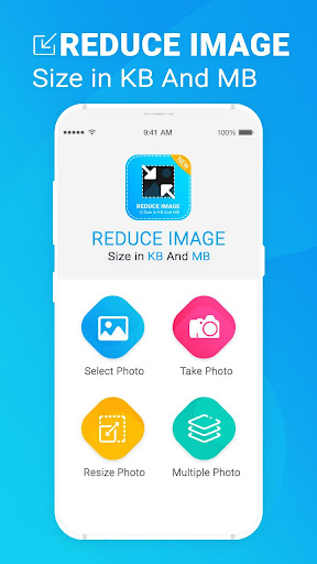 Reduce Photo Size in KB - Photo & Picture Resizer 1.3 screenshots 1