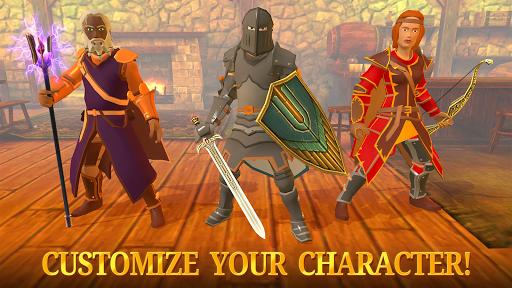 Combat Magic: Spells and Swords Apkfinish screenshots 5