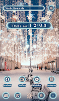 Beautiful Wallpaper Xmas Lights Theme