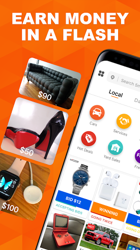 5miles: Buy and Sell Used Stuff Locally  screenshots 1