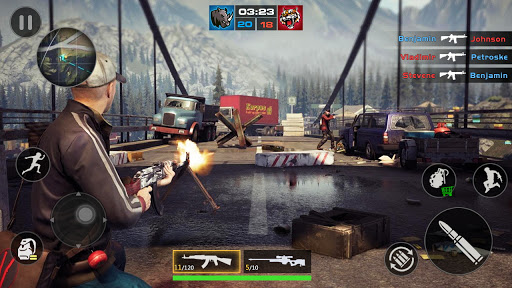 FPS Encounter Strike 2020: New Gun Shooting Games screenshots 3