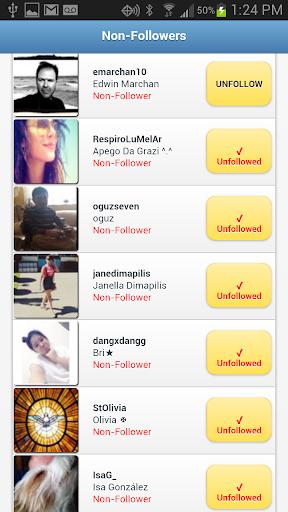 Followers+ for Twitter 1.2.0 Screenshots 3