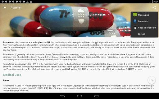 Drugs Dictionary (Free) 3.7.7 Screenshots 16