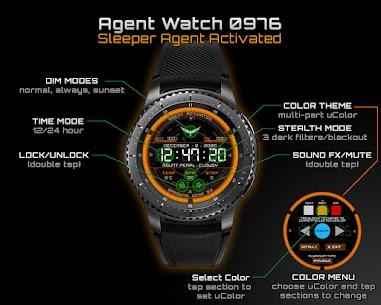 Agent Watch 0976 – V4 – WATCHMAKER Apk Download 2