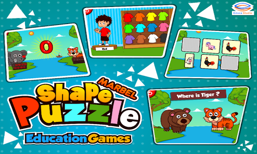 Marbel Shape Puzzle Kids Games modavailable screenshots 10