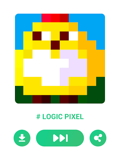 Logic Pixel - Picture puzzle 1.0.6 screenshots 21