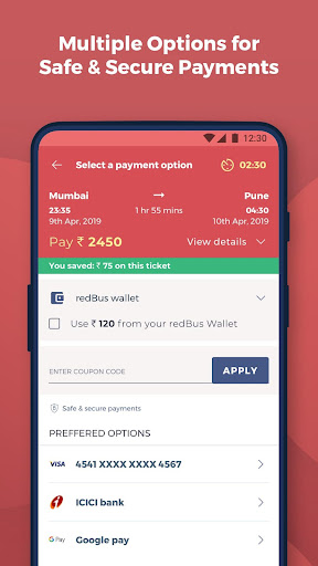 redBus - Worldu2019s #1 Online Bus Ticket Booking App  Screenshots 5