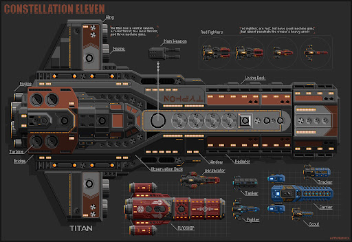 Constellation Eleven - space RPG shooter  screenshots 5