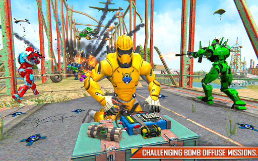 Bus Robot Car Transform: Flying Air Jet Robot Game  screenshots 9