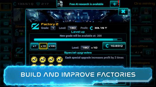 Business Clicker: Sci-Fi Magnate and Capitalist Mod Apk (Unlimited Money) 9