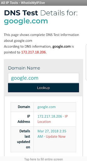 Download What Is My Ip Live Free For Android What Is My Ip Live Apk Download Steprimo Com Unlike public ip addresses, private ip addresses are used by private networks to identify and share information among computers and devices your router assigns a private ip address to everything on your home network via the dhcp protocol. ste primo