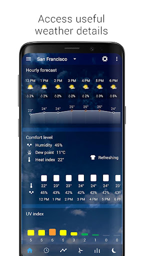 Transparent clock & weather screenshot 12