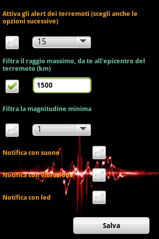 Terremoti ed alert  Screenshots 9