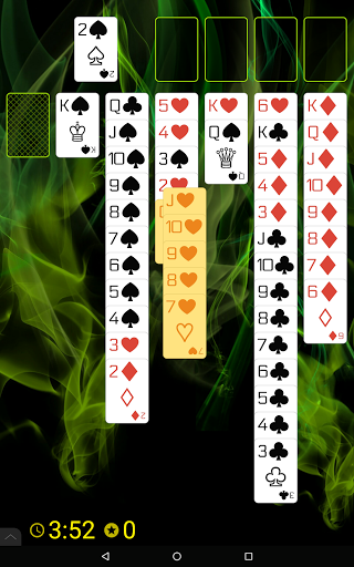 Spider Solitaire (Web rules)  screenshots 11