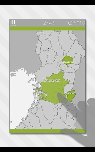 Enjoy Learning Osaka Map Puzzle 3.2.3 screenshots 11