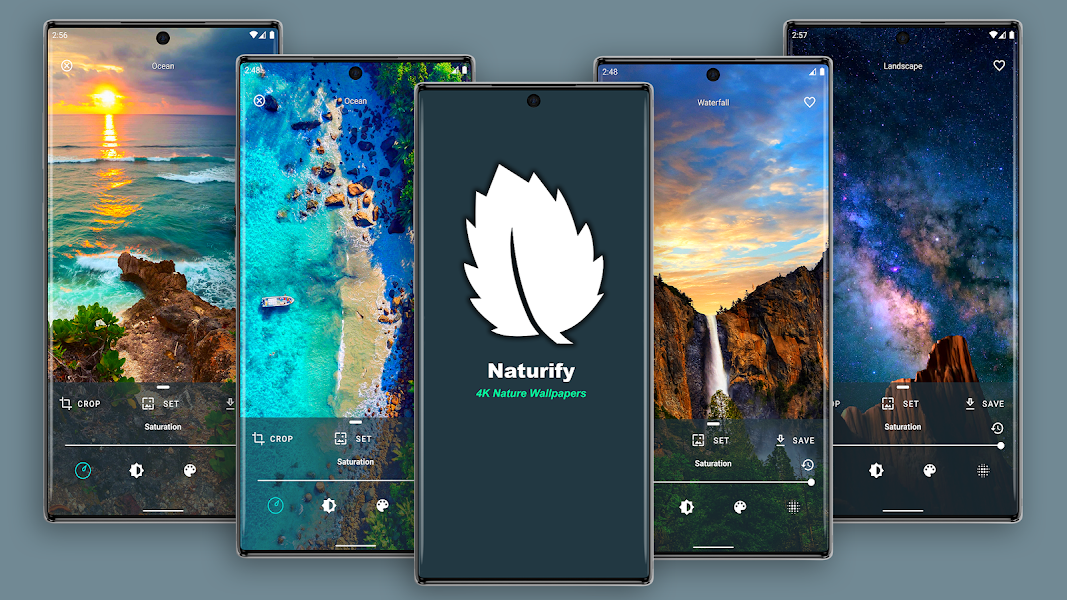 Naturify - 4K & HD Nature Wallpapers