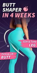 Buttocks Workout – Hips, Legs & Butt Workout 1