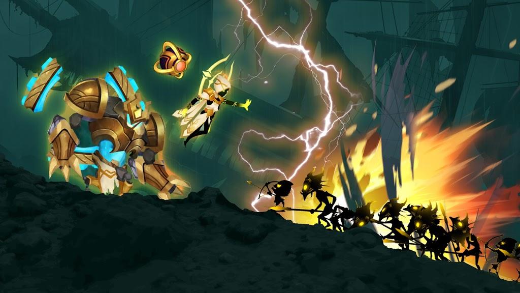 Stickman Legends: Shadow War Offline Fighting Game poster 21