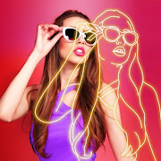 Photo Effects – Neon Pics, Photo Filters  Icon
