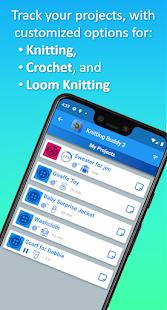 Knitting & Crochet Buddy 2 (Row Counter & More)