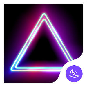 Shine Glitter Neon APUS stylish theme