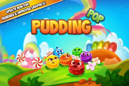 Pudding Pop - Connect & Splash Free Match 3 Game screenshots 4