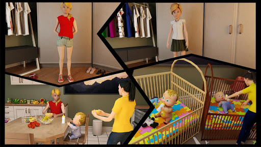 Real Mother Simulator 3D New Baby Simulator Games android2mod screenshots 4