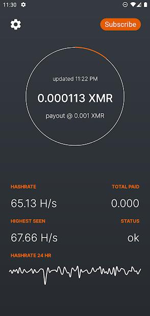 Flux XMR Cloud Miner