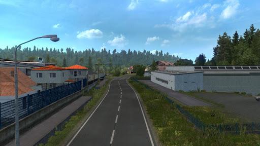 Euro intercity Transport Truck Similator 2021 apkdebit screenshots 4