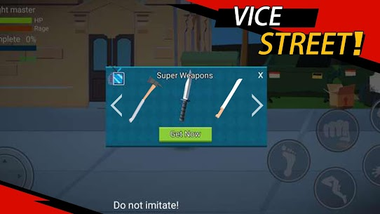 Vice Street: fighting master MOD (Unlimited Money) 2