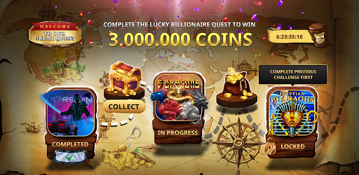Lucky Billionaire: Free VIP Slots  screenshots 1