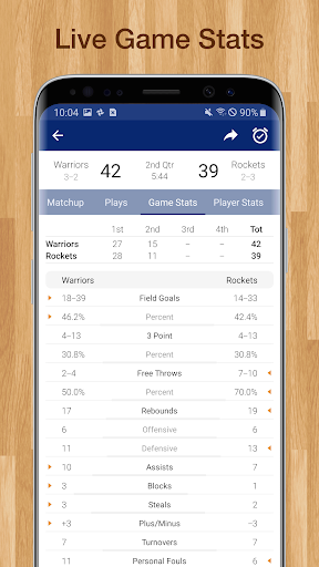 Basketball NBA Live Scores, Stats, & Schedules  screenshots 3